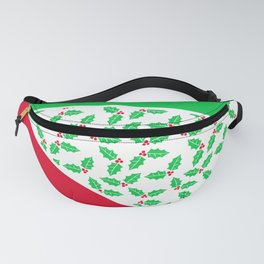 Christmas Color Blocks 2 Fanny Pack