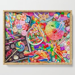 Candylicious Serving Tray