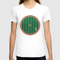 the hobbit T-shirts featuring Hobbit Door by Jonathan Knight