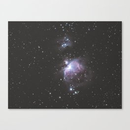 Orion And Running man Nebula's Canvas Print