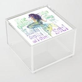 Mermaid : Profound Depths Acrylic Box