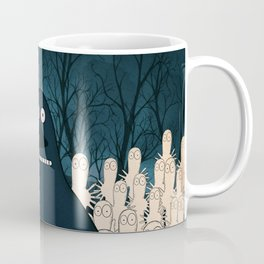 Groke, the moomins Coffee Mug