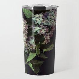 White Lilacs Travel Mug