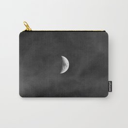 white · clouds Carry-All Pouch