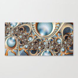 Pearls of new Canvas Print