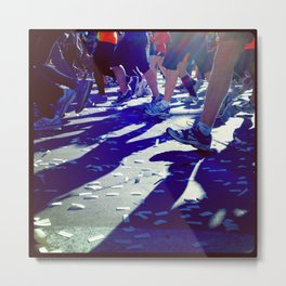 Foot Race Metal Print
