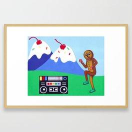 Bust a Move Framed Art Print