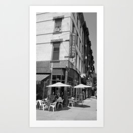 Cafe Steinhof Art Print