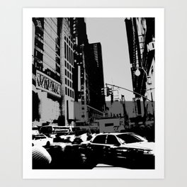 New York Street Art Print