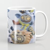 peanuts Mugs featuring Zombies and Peanuts by Misspeden
