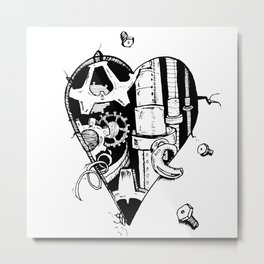 The Broken Hearted Metal Print