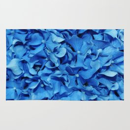 Blue Hydrangea Rug