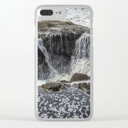 Thor's Well, No. 3 Clear iPhone Case
