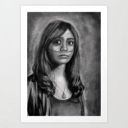 Emma Decody-Bates Motel Art Print