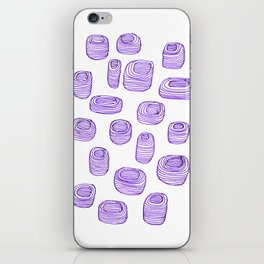Mysterious Musical Pots iPhone Skin