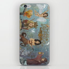 Zeppelin - In Days Of Old When Magic Filled The Air iPhone Skin
