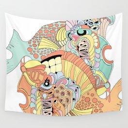 blowfish Wall Tapestry