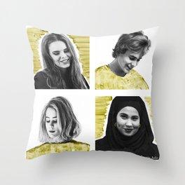 SKAM seasons change Throw Pillow