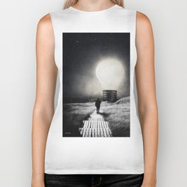 Follow the light ... Biker Tank
