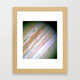Jupiter by Society6 Planet Prints Framed Art Print