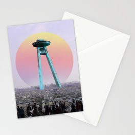 OVNI in Paris Stationery Cards