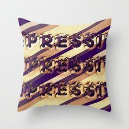 depressive Throw Pillow