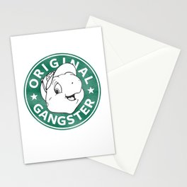 Franklin The Turtle - Starbucks Design Stationery Cards