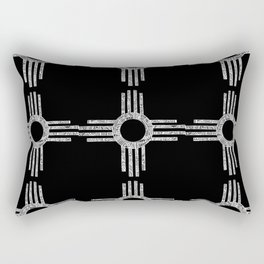 Sacred Zia Rectangular Pillow