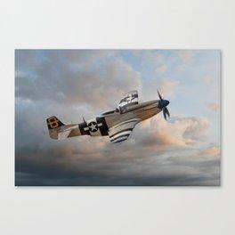 Jumpin Jacques - P51 Mustang Canvas Print
