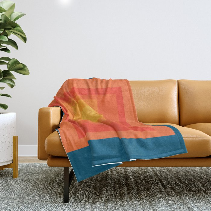 Homage to the Square Throw Blanket