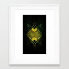 Watched Framed Art Print