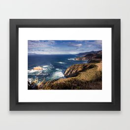 Big Sur Coast Framed Art Print