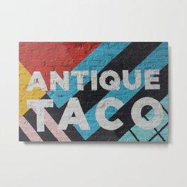Antique Taco Metal Print
