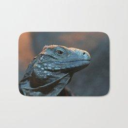 Blue Iguana Bath Mat