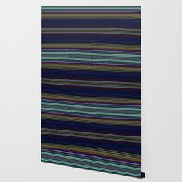 Navy Rag Weave II by Chris Sparks Wallpaper