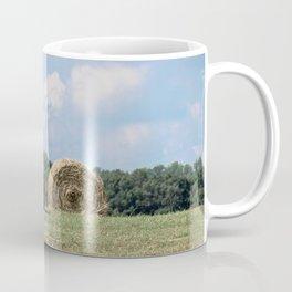 Hay Bales on The Farm Photography Coffee Mug