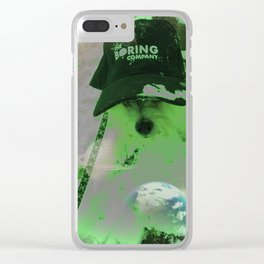 BORED GINSBURG Clear iPhone Case