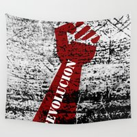 revolution Wall Tapestries featuring Revolution by Lord Egon Will