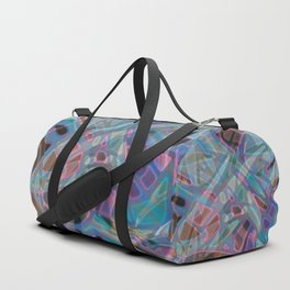 Colorful Abstract Stained Glass G302 Duffle Bag