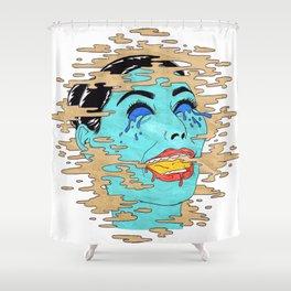 KrAzY kIm!! Shower Curtain