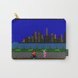 Punch Out Night Scene Carry-All Pouch