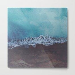 Oceans away Metal Print