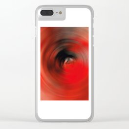 Reality Red - Abstract Art By Sharon Cummings Clear iPhone Case
