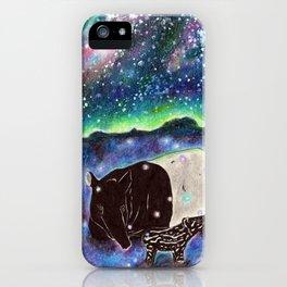 Malayan Tapir iPhone Case