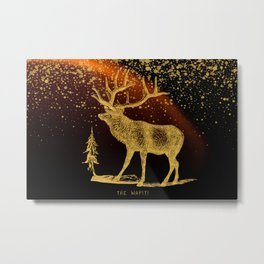 The Wapiti Metal Print