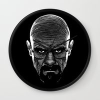 cook Wall Clocks featuring The Cook by Azafran