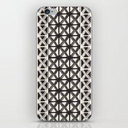 B&W Tribal #society6 #tribal iPhone Skin