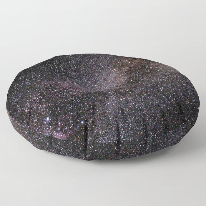 The Milky Way Floor Pillow