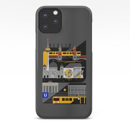 Berlin at Night iPhone Case