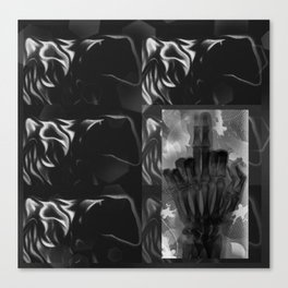 gates of hell III Canvas Print